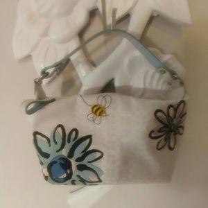 Bumble bee Coach mini bag